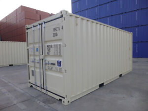 NEW 20' One-Trip Shipping/Storage Containers for SALE!