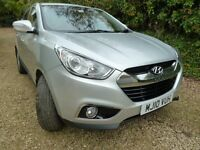 Hyundai IX35 2.0 CRDi 16v Style SUV 4WD 5dr. Excellent condition. Just serviced. MOT Oct 17. Tow bar