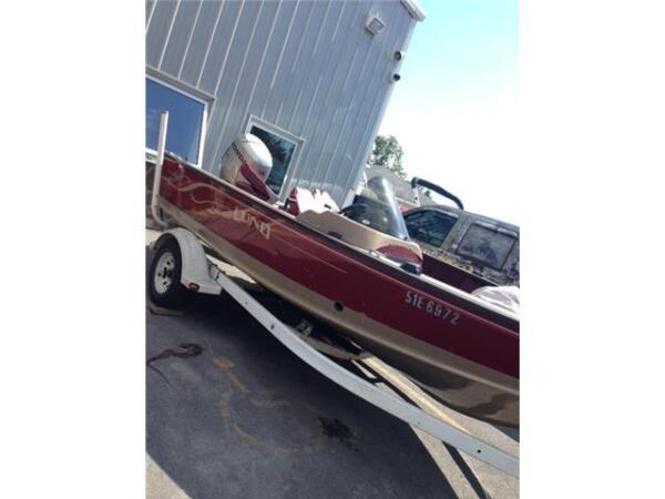 Used 2000 Lund Boat Co mr pike