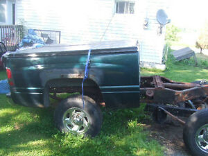 Back half of 4x4 truck new price