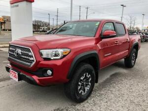 2017 Toyota Tacoma TRD OFF ROAD+EXTENDED WARRANTY-100,000KMS!