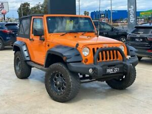 2012 Jeep Wrangler JK MY2012 Sport Orange 5 Speed Automatic Softtop Hoppers Crossing Wyndham Area Preview