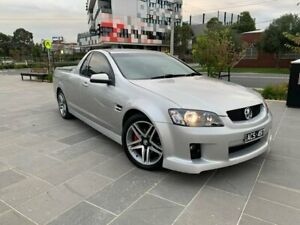 2008 Holden Ute VE SV6 Silver 5 Speed Sports Automatic Utility South Melbourne Port Phillip Preview