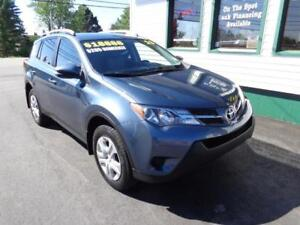 2013 Toyota RAV4 LE AWD for only $205 bi-weekly all in!