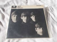 Vinyl LP With The Beatles Parlophone PMC 1206 Mono