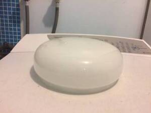 white glass ceiling light shade Paralowie Salisbury Area Preview