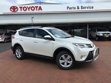 2013 Toyota RAV4 ASA44R GXL (4x4) Crystal Pearl 6 Speed Automatic Wagon Dubbo 2830 Dubbo Area Preview