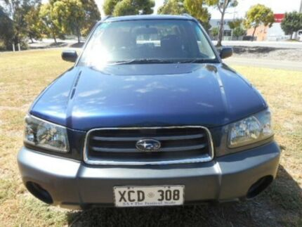 2004 Subaru Forester Blue Automatic Wagon Mile End South West Torrens Area Preview
