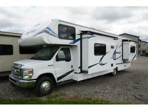 Conquest 6314 motorhome with theater seating!