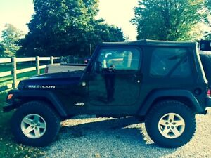 2005 Jeep TJ Rubicon - Great shape, must sell