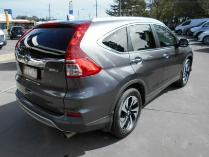 2016 Honda CR-V RM Series II MY17 VTi-L 4WD Grey 5 Speed Sports Automatic Wagon Bentleigh East Glen Eira Area Preview
