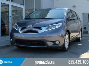 2015 Toyota Sienna LIMITED AWD FULL MEAL DEAL DVD BRAND NEW TIRE