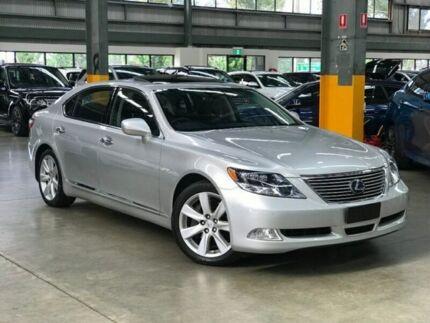 2009 Lexus Ls600hl Usf46r Sedan 4dr Cvt 8sp 4wd 5 0i 165kw Hybrid Silver Constant Variable