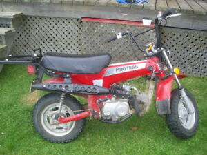 Moto mini trail CT 70, 1985