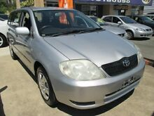 2003 Toyota Corolla ZZE122R Ascent Silver 4 Speed Automatic Wagon Greenslopes Brisbane South West Preview