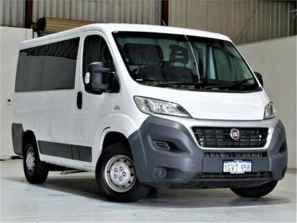 2016 Fiat Ducato Series 4 Low Roof SWB Comfort-matic White 6 Speed Sports Automatic Single Clutch Yangebup Cockburn Area Preview