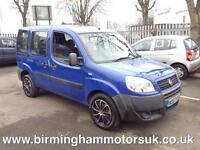 2007 (57 Reg) Fiat Doblo 1.3 16V MULTIJET ACTIVE 5DR Estate BLUE