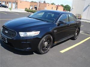 2013 Ford TAURUS AWD,BLK/BLK EX- POLICE