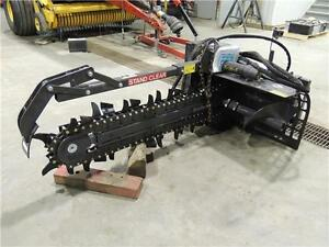 2015 New Holland 625 Trencher for Skid Steer Loaders - NEW