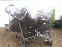 Double pushchair 30f
