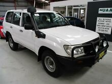 2006 Toyota Landcruiser HZJ105R Standard White 5 Speed Manual Wagon Maryville Newcastle Area Preview
