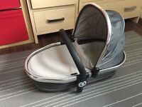 iCandy Peach Blossom Twin Carrycot, Truffle