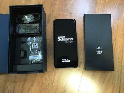 New Samsung Galaxy S9 SM-G960 - 64GB MIDNIGHT Inky (GSM + AT&T GLOBAL Unlocked