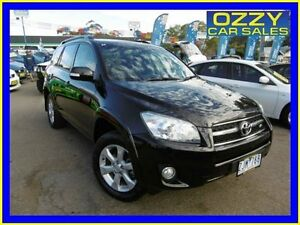 2012 Toyota RAV4 GSA33R 08 Upgrade SX6 Ebony 5 Speed Automatic Wagon Penrith Penrith Area Preview