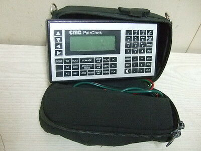 Cmc Pairchek 8336h 8336 H Test Tester With Leads Case Communications Mfg Co