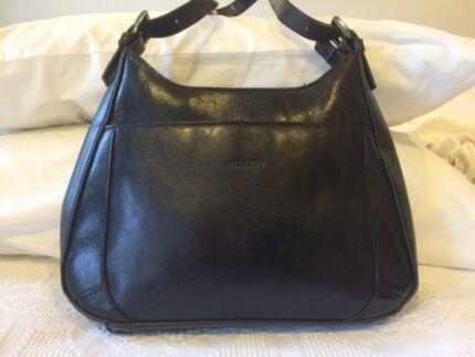 Milleni Leather Handbag In Black And Caramel Handbags 2018