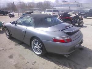 2003 Porsche 911 Carrera 4 Convertible for parts