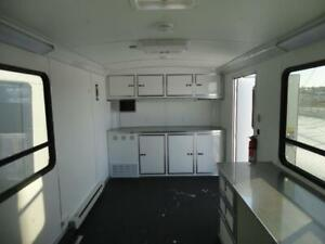 Cargo Mate Silver Crown Edition Office Trailer 8 x 18