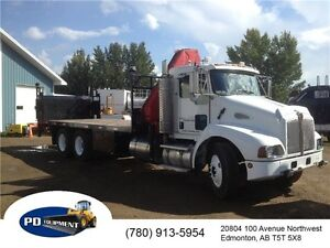 2005 Kenworth T300 T/A Folding Picker Truck Edmonton Edmonton Area image 3