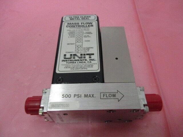 Unit Instruments UFC-1200A Mass Flow Controller, MFC, N2, 200 SCCM, 424980