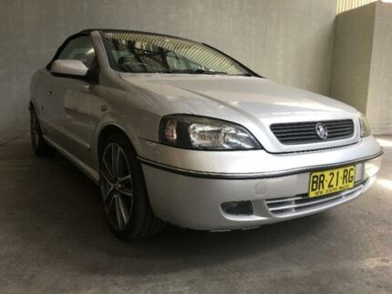 2003 Holden Astra TS Convertible Silver 4 Speed Automatic Convertible