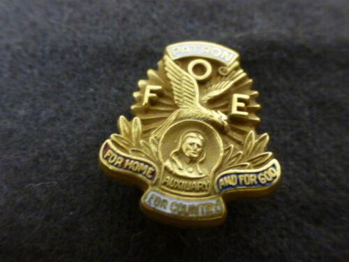 Vintage Gold Filled Fraternal Order of Eagles Pin