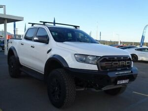 2019 Ford Ranger PX MkIII 2019.75MY Raptor Pick-up Double Cab White 10 Speed Sports Automatic Albion Park Rail Shellharbour Area Preview