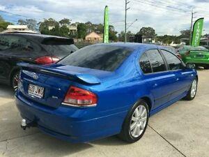 2006 Ford Falcon BF SR Blue 4 Speed Semi Auto Sedan Southport Gold Coast City Preview