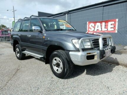 2004 Toyota Landcruiser UZJ100R GXL Grey 5 Speed Automatic Wagon Kippa-ring Redcliffe Area Preview