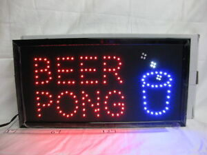 Enseigne LED clignotante Flashing Sign