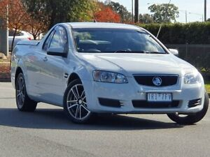 2011 Holden Ute VE II Omega White 6 Speed Sports Automatic Utility Wodonga Wodonga Area Preview