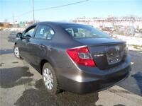 2012 Honda Civic Sdn LX,VERY LOW KILOMETERS, LIKE NEW!