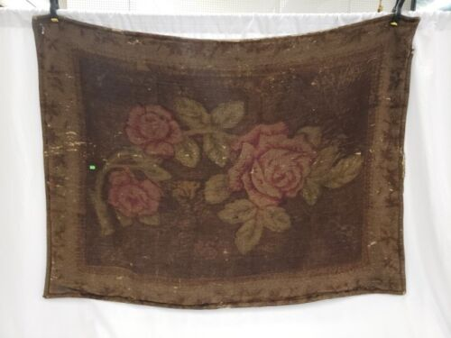Antique Stroock Mohair Wool Carriage Blanket, Late 19th - 20th Century, Orig Tag