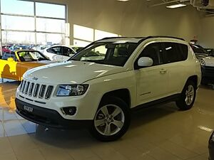 2016 Jeep Compass HIGH ALTITUDE BLANC 4X4 VUS UCONNECT 6.5 TOIT