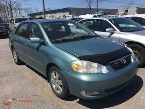 2005 TOYOTA COROLLA LE CUIR TOIT OUVRANT CLIMATISEE MAGS 130000K