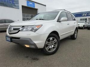 2009 Acura MDX Tech Pkg-NAVI,REAR CAM,LEATHER,WARRANTY,$12,495