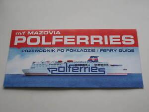 Mazovia (P1) ex Gotland, Finnarrow - Polferries - Prom Ferry Ship Fährschiff - <span itemprop='availableAtOrFrom'>Poznan, Polska</span> - Mazovia (P1) ex Gotland, Finnarrow - Polferries - Prom Ferry Ship Fährschiff - Poznan, Polska