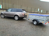 NEW Car camping box trailer 6,8FT X 3,8FT WITH EXTRA SIDE AND TOP COVER