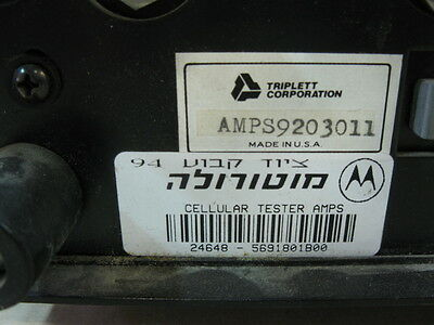 Triplett Amps9203011 Cellular Tester Amps