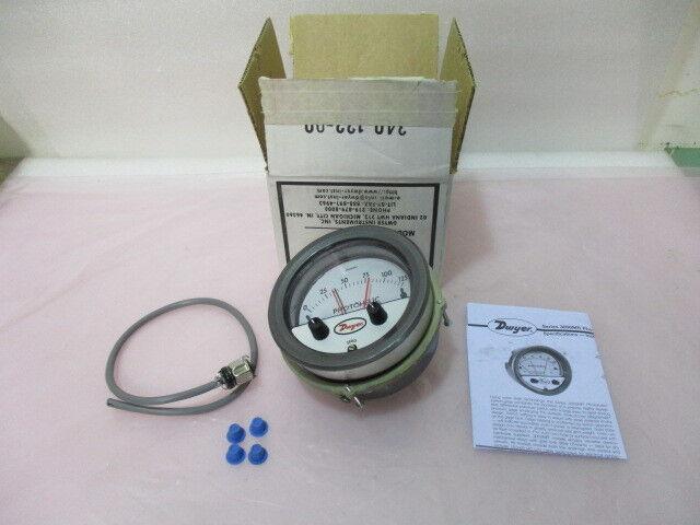 Dwyer Series 3000MR Photohelic Pressure Switch, 3000MR-60PA, 0-125 Pascal 407798